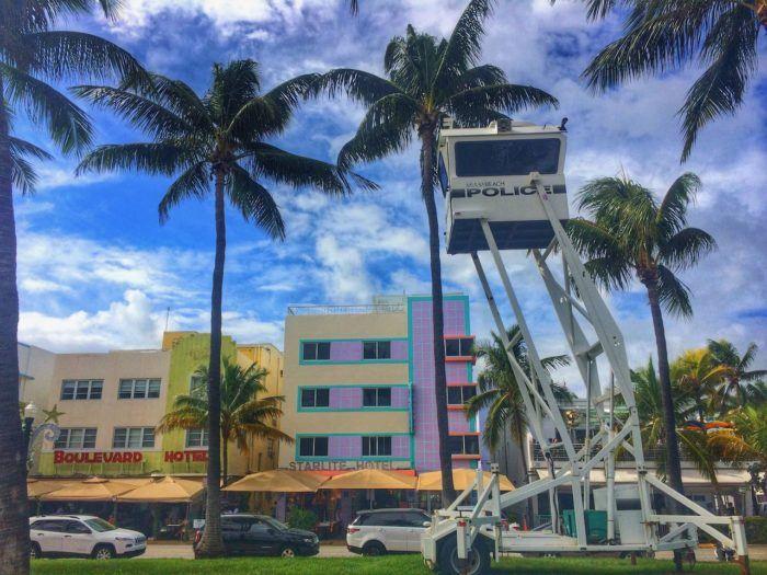 Miami Beach Art Deco Ocean Drive