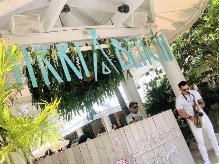 Nikki Beach brunch in Miami