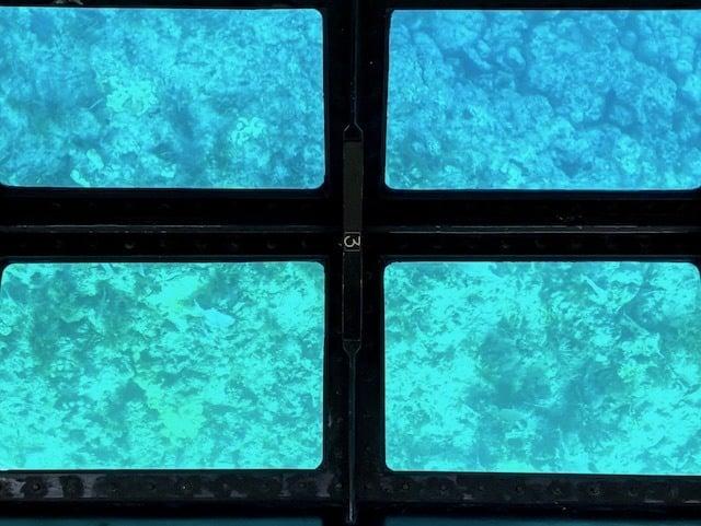 Glass bottom boat John Pennecamp State Park Florida Keys