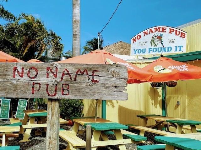 No name pub florida keys no name key